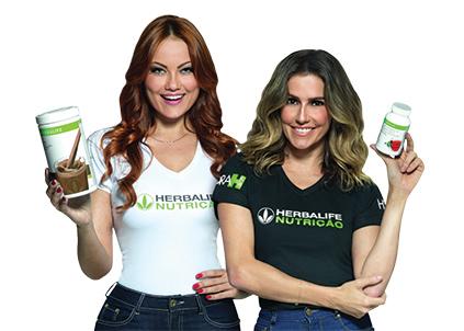 Atrizes Deborah Secco e Ellen Rocche participaram de um desafio de três meses da Herbalife que resultou em ampla repercussão e presença nas redes sociais das estrelas